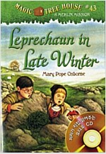 Magic Tree House #43 : Leprechaun in Late Winter (Book & CD)