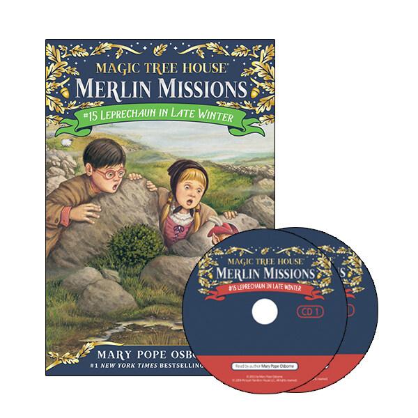 Merlin Mission #15 : Leprechaun in Late Winter (Paperback + CD )