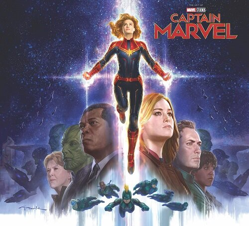 Marvels Captain Marvel: The Art of the Movie (Hardcover)