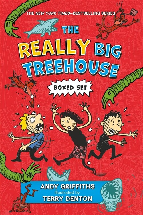 The Really Big Treehouse Boxed Set (Paperback)