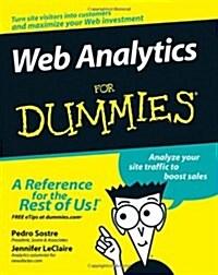 Web Analytics For Dummies (Paperback)