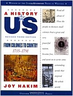A History of Us: From Colonies to Country: 1735-1791 a History of Us Book Three (Paperback, 3, Revised)