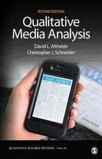 Qualitative media analysis 2nd ed