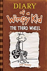 Diary of a Wimpy Kid # 7: Third Wheel (Hardcover)