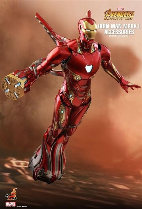 [Hot Toys] 어벤져스 인피니티워 아이언맨 마크50 악세서리팩 ACS004 - 1/6th scale Iron Man Mark L Accessories Collectible Set