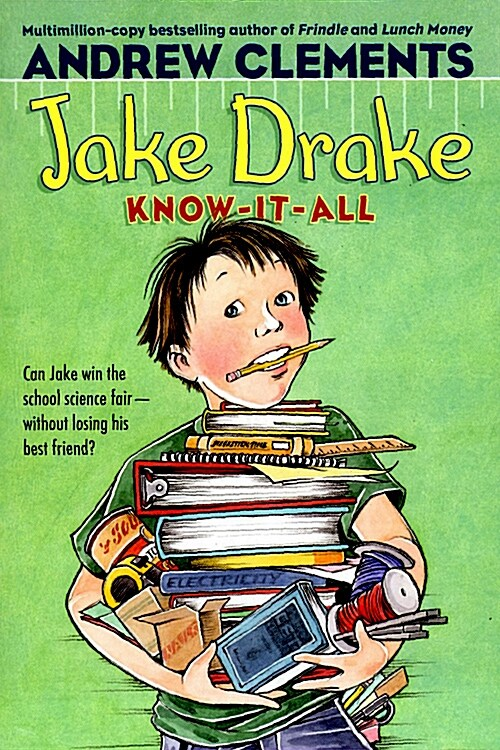 [중고] Jake Drake, Know-It-All (Paperback)