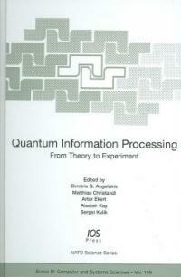 Quantum information processing : from theory to experiment