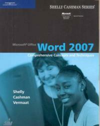 Microsoft Office Word 2007 : comprehensive concepts and techniques
