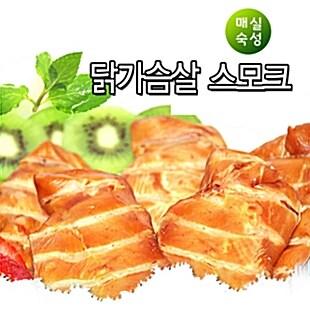 [그린푸드 훈제닭가슴살 3kg] 국내산100% 200g포장 헬스/다이어트/소금무첨가
