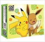 포켓몬스터 직소퍼즐 150조각 : 피카츄와 이브이