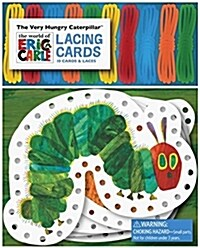 The Very Hungry Caterpillar Lacing Cards [With 10 Laces] (Other)