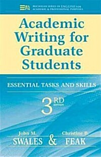 Academic Writing for Graduate Students: Essential Tasks and Skills (Paperback, 3)