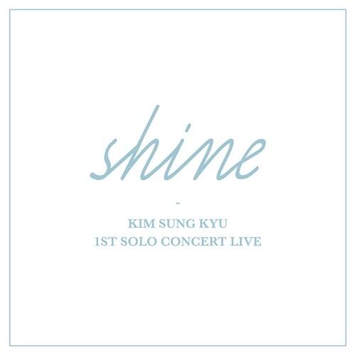 김성규 - 라이브 앨범 1ST SOLO CONCERT LIVE Shine [2CD]