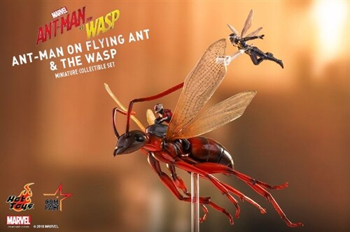 [Hot Toys] 앤트맨과 와스프 앤트맨온플라잉앤트 MMSC004 - Ant-Man on Flying Ant and the Wasp Miniature Collectible Set