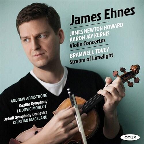 [수입] 커니스: 바이올린 협주곡 / 하워드: 바이올린 협주곡 / 토비: Stream of Limelight