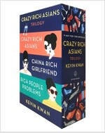 The Crazy Rich Asians Trilogy Box Set (Paperback)