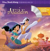Aladdin Read-Along Storybook and CD 디즈니 알라딘 리드얼롱 스토리북 (Paperback)