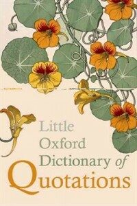 Little Oxford Dictionary of Quotations (Hardcover, 5 Revised edition)