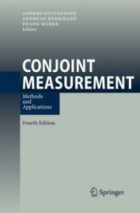 Conjoint measurement : methods and applications 4th ed