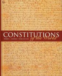 Constitutions of the world 3rd ed