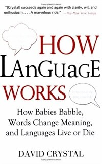 How language works : how babies babble, words change meaning, and languages live or die 1st trade pbk. ed