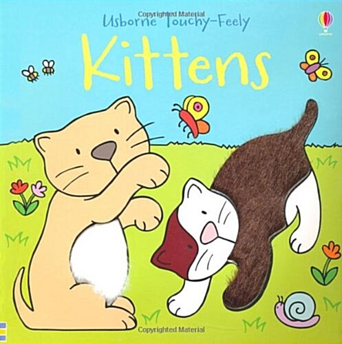 Touchy-feely Kittens (Board Book, New ed)