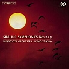 [수입] 시벨리우스 : 교향곡 2번, 5번 [SACD Hybrid]