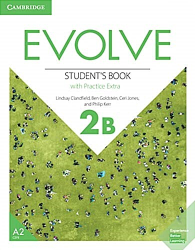 Evolve Level 2B Students Book with Practice Extra (Paperback + 1 Digital online)