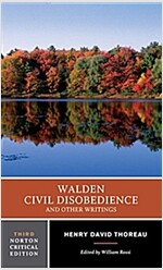 Walden / Civil Disobedience / And Other Writings (Paperback, 3)