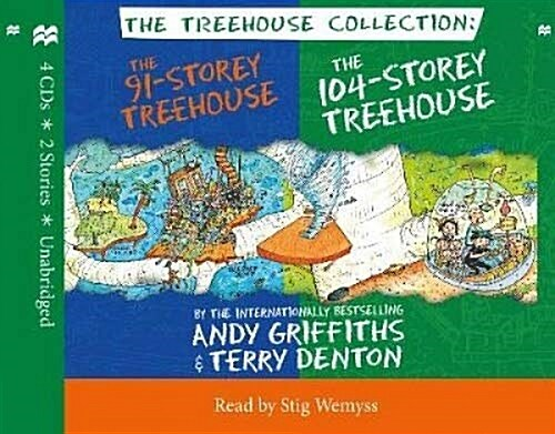 The 91-Storey & 104-Storey Treehouse CD Set (Audio CD, 영국판)