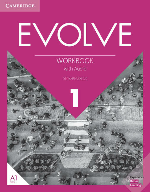 Evolve Level 1 Workbook with Audio (Package)