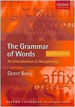 The Grammar of Words (Paperback, 2nd)