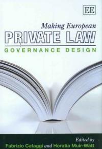 Making European private law : governance design