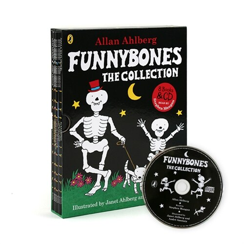 Funnybones the Collection 8 Books & Audio CD SET (Paperback)