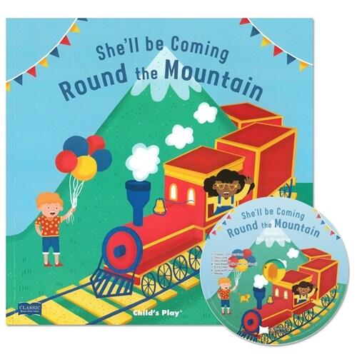 노부영 마더구스 Shell Be Coming Round the Mountain (Paperback + CD)