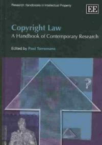 Copyright law : a handbook of contemporary research