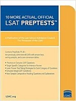 10 More, Actual Official LSAT Preptests: (preptests 19-28) (Paperback)