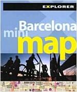 Barcelona Mini Map (Folded)