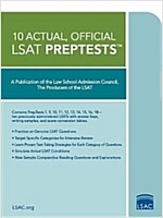 10 Actual, Official LSAT Preptests: (preptests 7,9,10,11,12,13,14,15,16,18) (Paperback)