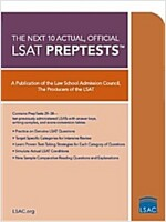 10 Next, Actual Official LSAT Preptests: (preptests 29-38) (Paperback)