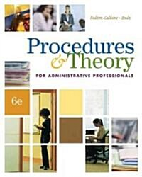 Procedures & Theory for Administrative Professionals (Hardcover, CD-ROM, 6th)