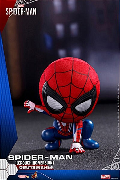 [Hot Toys] 코스베이비 스파이더맨 S 버블헤드 Crouching Ver.COSB514 - Spider-Man (Crouching Version) Cosbaby (S) Bobble-Head