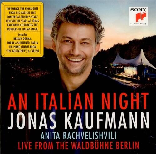 [수입] 요나스 카우프만 - 이탈리아의 밤 (발트뷔네 라이브)