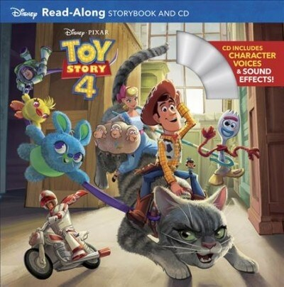 Toy Story 4 Read-Along Storybook and CD (Paperback)
