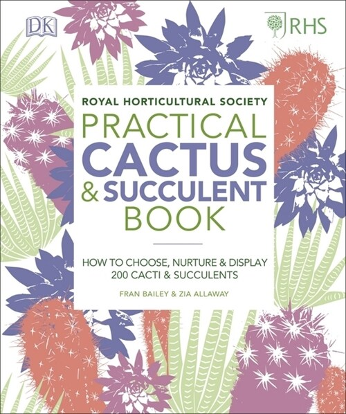 RHS Practical Cactus and Succulent Book : How to Choose, Nurture, and Display more than 200 Cacti and Succulents (Hardcover)
