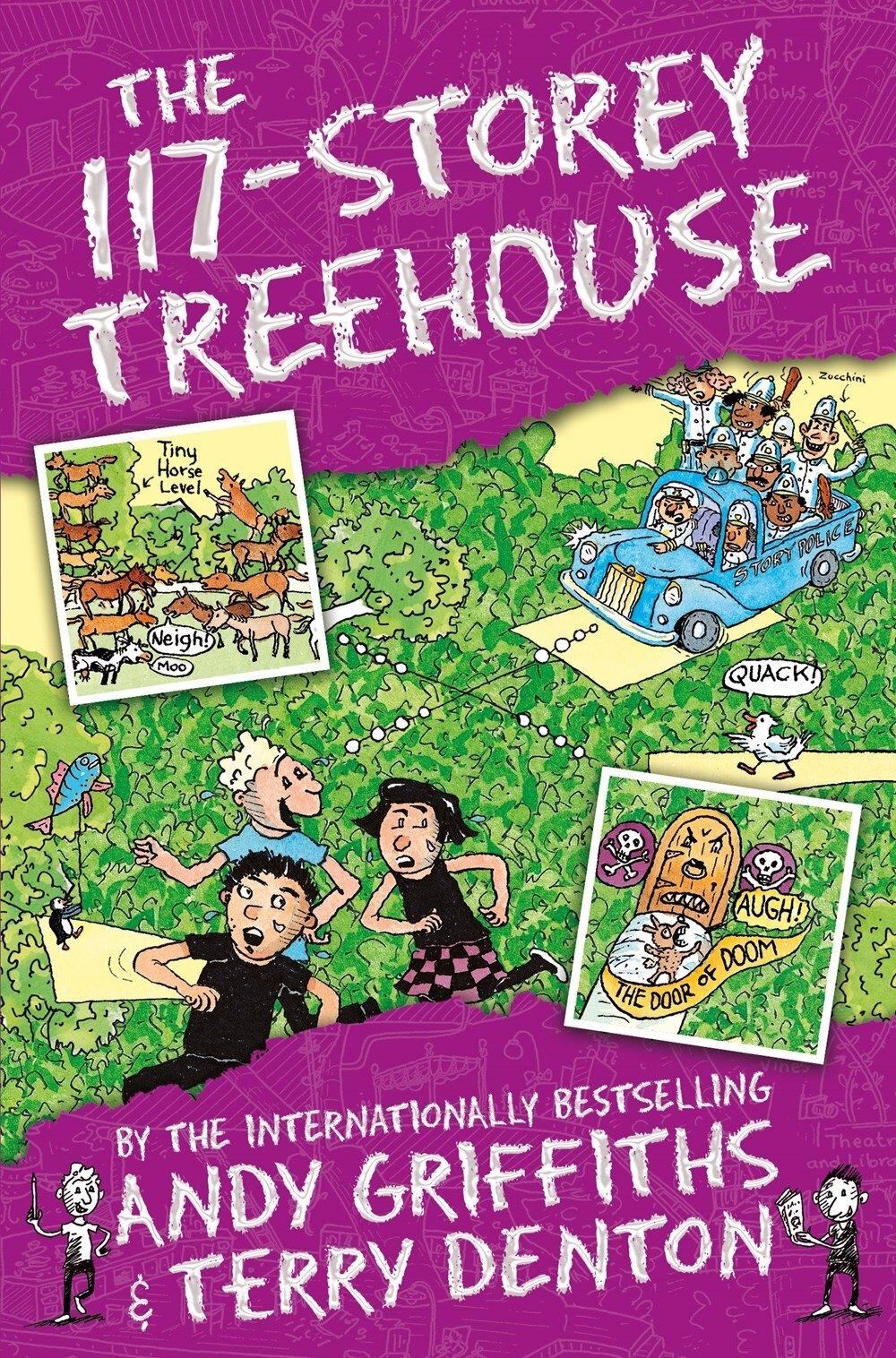 The 117-Storey Treehouse (Paperback, 영국판)