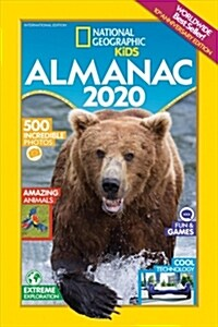 National Geographic Kids Almanac 2020, International Edition (Paperback)