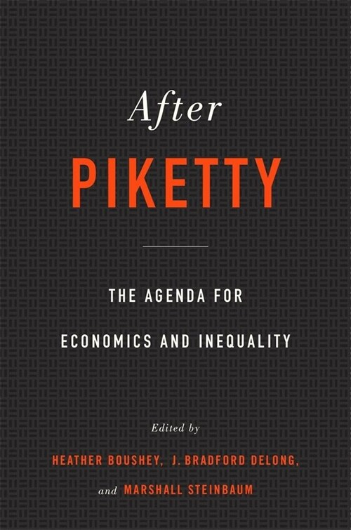 After Piketty: The Agenda for Economics and Inequality (Paperback)