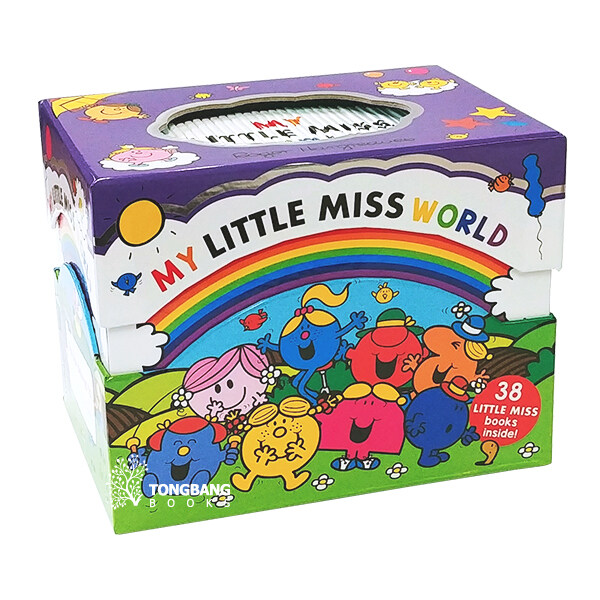 EQ의 천재들 리틀 미스 원서 38권 박스 세트 - My Little Miss World Collection 38 Books Box Set (Paperback 38권, 영국판)