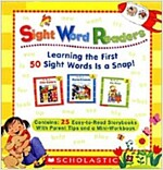 Sight Word Readers Parent Pack: Learning the First 50 Sight Words Is a Snap! [With Mini-Workbook] (Boxed Set)